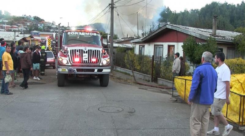 Coordinan ayuda para familias afectadas por gigantesco incendio