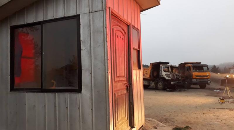 Alcalde de Curanilahue repudia atentado incendiario en Los Álamos