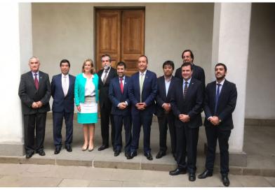 Arauco 7 se reúne con Subsecretario del Interior