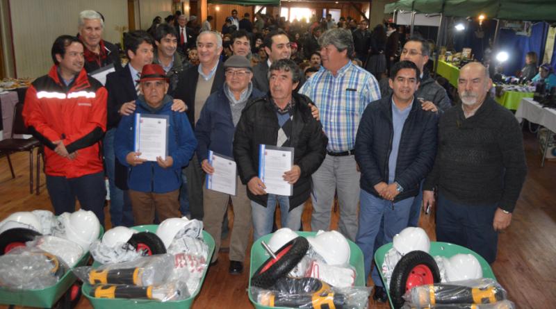 Conmemoran Día del Minero en Curanilahue
