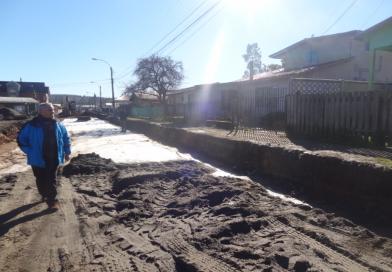 Se inician obras de pavimentación