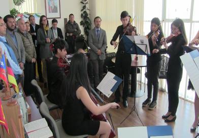 Municipio y Globalvía se unen en apoyo a Orquesta Juvenil