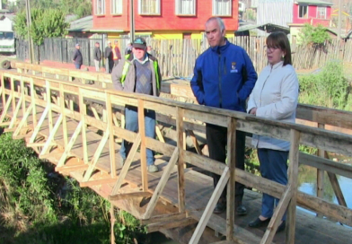 Municipio repone puente Serrano
